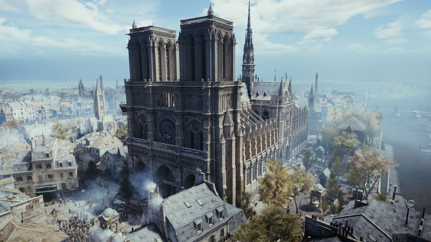 Ubisoft spendet für Notre-Dame, verschenkt Spiel