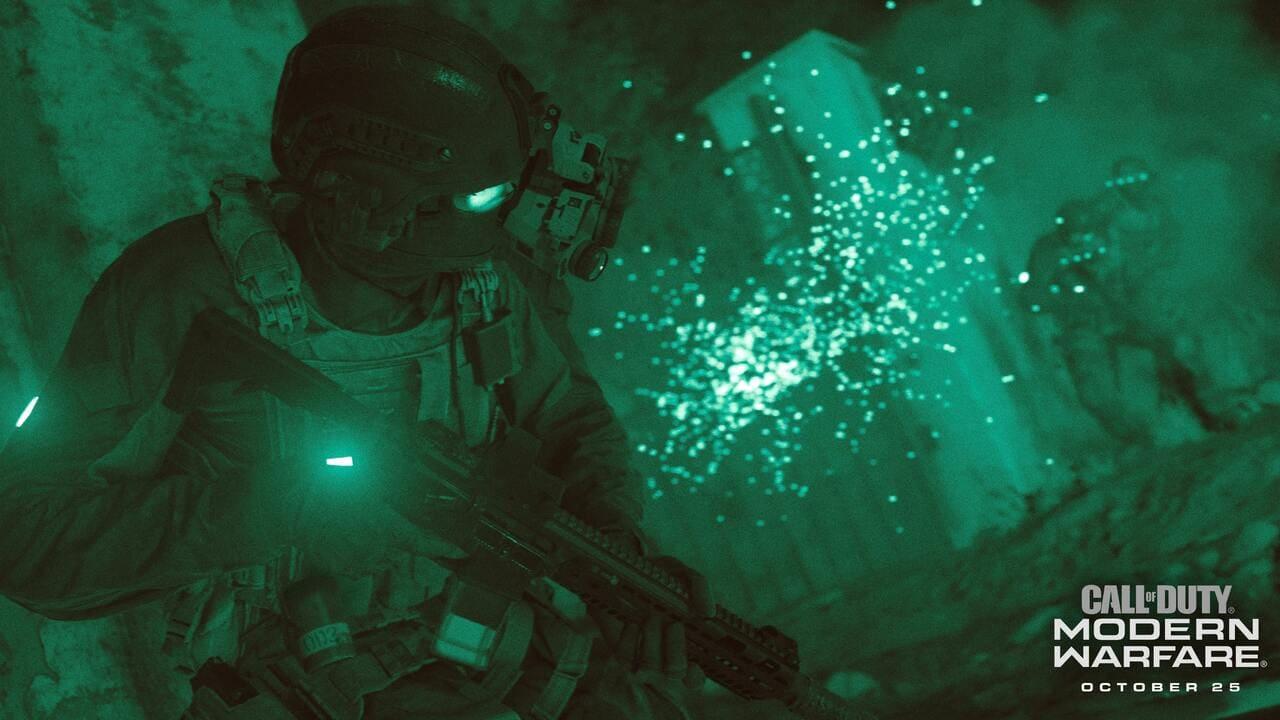 Modern Warfare: Nachtsichtgerät in Dark Edition enthalten