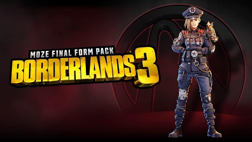 Borderlands 3 Final Form Kosmetika Moze
